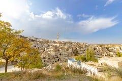 Miejsca publicznego Urgup Cappadocia Indycza jama fotografia royalty free