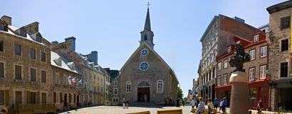 Miejsca royale, Quebec Miasto zdjęcia royalty free