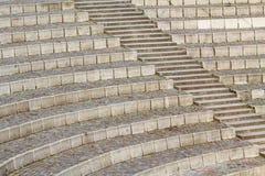 Miejsca siedzące i schodki obraz stock