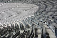 miejsca siedzące olimpijski stadium Zdjęcie Stock