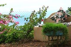 Miejsca siedzące w ogródzie Obraz Royalty Free