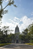 Miejsce Buddha oświeca Zdjęcia Royalty Free