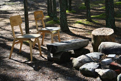 miejsce campingowy Obrazy Royalty Free