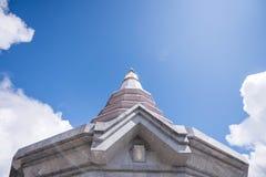 Miejsce czasu wolnego podróż w Inthanon górze Zdjęcia Stock