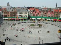Miejsce de Bruges Fotografia Royalty Free
