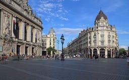 Miejsce De Theatre w Lille, Francja Zdjęcia Royalty Free