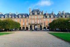 Miejsce De Vosges, Paryż zdjęcie royalty free