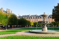 Miejsce De Vosges, Paryż zdjęcia royalty free