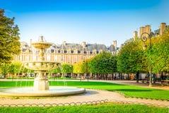 Miejsce De Vosges, Paryż zdjęcia stock