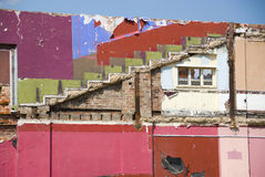 miejsce demolition Obrazy Royalty Free