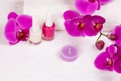 Miejsce dla manicure'u Fotografia Royalty Free
