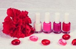 Miejsce dla manicure'u Zdjęcie Royalty Free