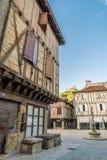 Miejsce du mercadial w świętym Céré Francja Zdjęcia Royalty Free
