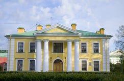 Miejsce interes miasto St Petersburg Pyotr i Pavel ` s inżynierii dom Obrazy Stock