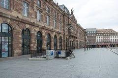 Miejsce Kléber, Strasburg, Francja Zdjęcie Royalty Free