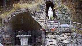 miejsce modlitwa madonna fotografia royalty free
