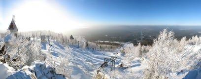miejsce na nartach Zdjęcie Stock