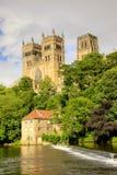 miejsce narodzin biskupów katedralny chrześcijaństwa Durham England domowy książe zdjęcie stock