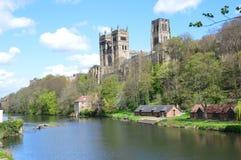 miejsce narodzin biskupów katedralny chrześcijaństwa Durham England domowy książe Zdjęcie Royalty Free