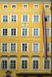 miejsce narodzin Mozart s Salzburg Obraz Stock