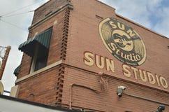 Miejsce narodzin rock and roll legendarny słońca studio Obraz Stock