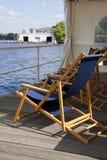 Miejsce odpoczynek na molu fotografia royalty free