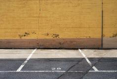 miejsce parkingowe obraz royalty free