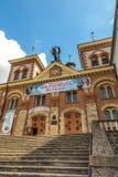 Miejsce Piastowe, Polonia - 22 de julio de 2016: Capilla de San Miguel Imágenes de archivo libres de regalías