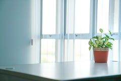 Miejsce pracy lub biura pok?j, prosty spojrzenie obraz stock