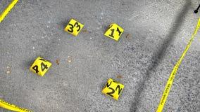 Miejsce Przestępstwa Z skorupami, Cufflinks ilustracji
