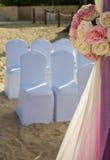 Miejsce przeznaczenia ślub przy tropikalnym kurortem Obraz Royalty Free