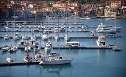 Miejsce przeznaczenia Italy, portowy Hercules, Tuscany Zdjęcie Stock