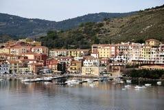 Miejsce przeznaczenia Italy, Tuscany, Hercule port Zdjęcie Stock