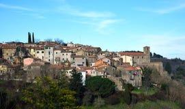 Miejsce przeznaczenia Włochy, Scansano w Tuscany Zdjęcia Royalty Free