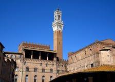 Miejsce przeznaczenia Włochy, Siena Obraz Royalty Free