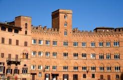 Miejsce przeznaczenia Włochy, Siena Fotografia Royalty Free