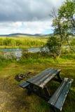 Miejsce Spoczynku przy Norwegia Zdjęcia Stock