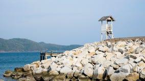 Miejsce w morzu Fotografia Royalty Free