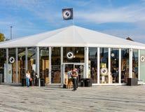 Miejsce wydarzenia Zurich Ekranowy festiwal fotografia stock