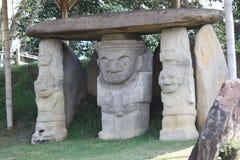 Miejscowa rzeźba San agustÃn, Huila, Kolumbia obraz royalty free