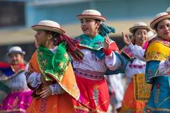 Miejscowe quechua kobiety w tradycyjnej odzieży Fotografia Royalty Free