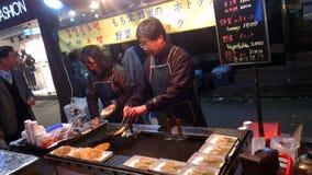 Miejscowego rynek w Południowym Korea Seul Obraz Royalty Free
