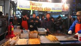 Miejscowego rynek w Południowym Korea Seul Obrazy Royalty Free