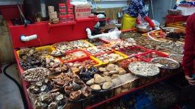Miejscowego rynek w Południowym Korea Seul Obrazy Stock