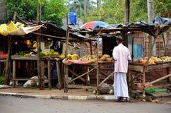 Miejscowego rynek w Pottuvil, Srí Lanka Zdjęcia Stock