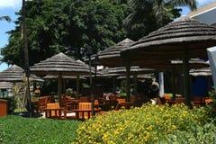 miejscowość nadmorska tropikalna Zdjęcie Royalty Free