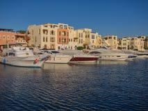 Miejscowość turystyczna w Aqaba Jordania dokąd promy od Egipt ziemi Obraz Royalty Free