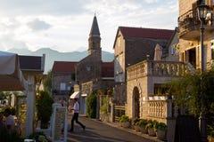 Miejscowość wypoczynkowa Perast, Montenegro fotografia stock