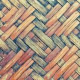 Miejscowy Wyplata bambus ścianę Zdjęcie Stock