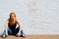 miejska dziewczyna Zdjęcie Stock